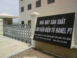 Công ty Cổ Phần Sản Xuất Gia Công và XNK Hanek - Bắc Ninh