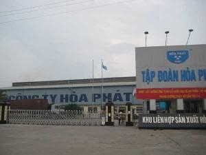 Khu liên hợp sản xuất - Tập đoàn Hòa Phát - Hưng Yên