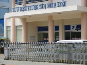 Bưu điện trung tầm Ninh Kiều - Cần Thơ