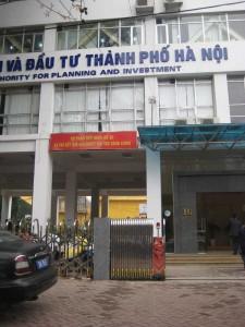 Sở Kế Hoạch và Đầu Tư - TP Hà Nội