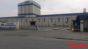 Lắp đặt cổng xếp, barrier - Nhà Máy Hòa Phát Hưng Yên