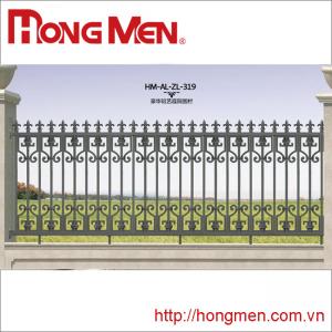 Hàng rào hợp kim nhôm HM-AL-ZL-319