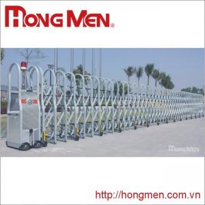Cổng xếp tự động hợp kim nhôm SQM-Y