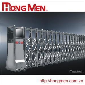 Cổng xếp Inox 304 Hồng Vận B-M (SHYB-M)